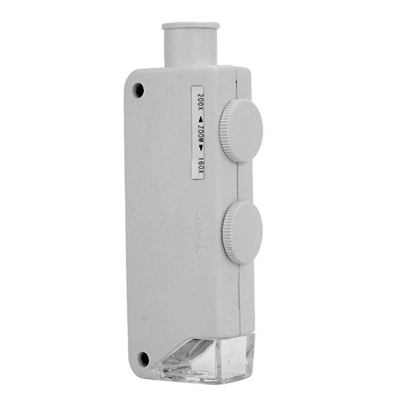 Карманный микроскоп Kromatech MG10081-1A 160-200x 43149w011