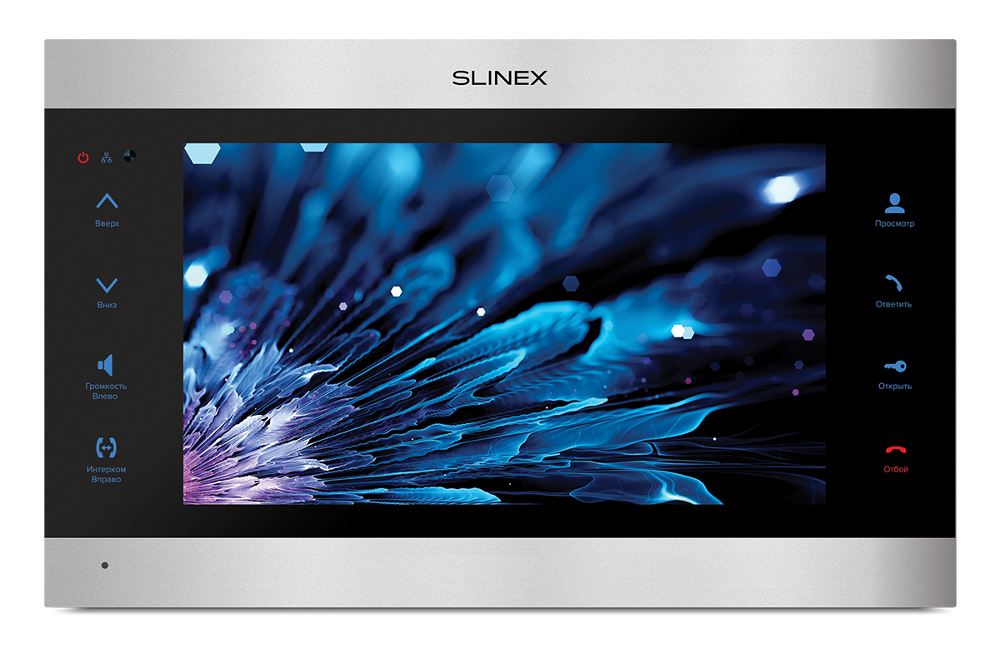 Видеодомофон Slinex SL-10IPT Silver-Black