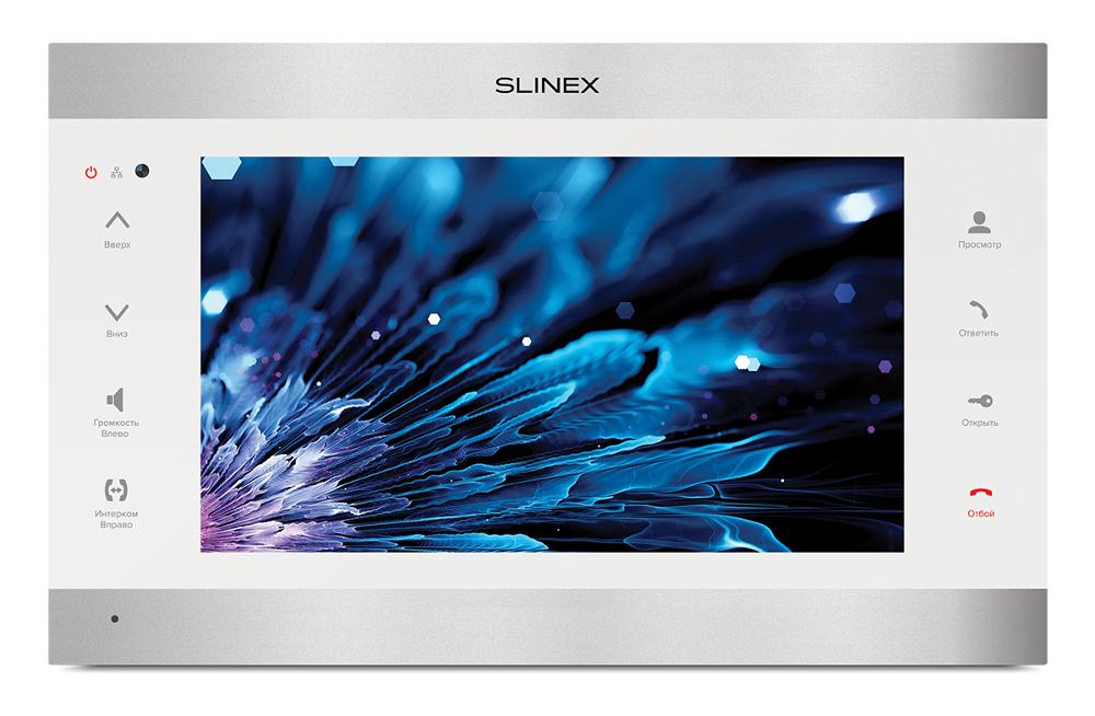 Видеодомофон Slinex SL-10IPT Silver-White