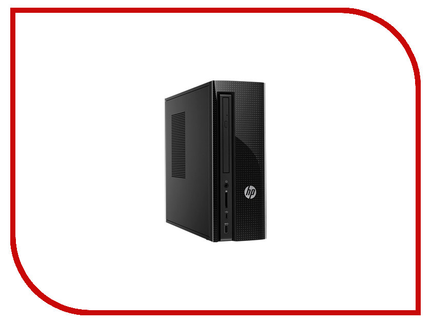 Настольный компьютер HP 260-p137ur Black 1EV02EA (Intel Core i3-6100T 3.2 GHz/4096Mb/1000Gb/DVD-RW/Intel HD Graphics/Wi-Fi/Bluetooth/DOS)