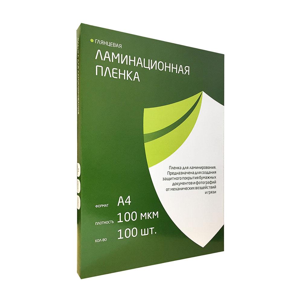 Пленка для ламинирования Гелеос 100мкм 100шт LPA4-100