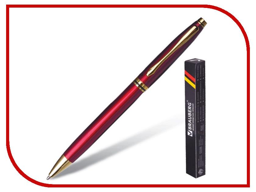Ручка шариковая Brauberg De luxe Red-Gold 141413