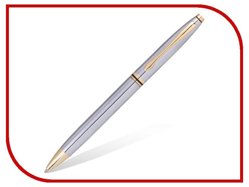 Ручка шариковая Brauberg De luxe Silver-Gold 141414