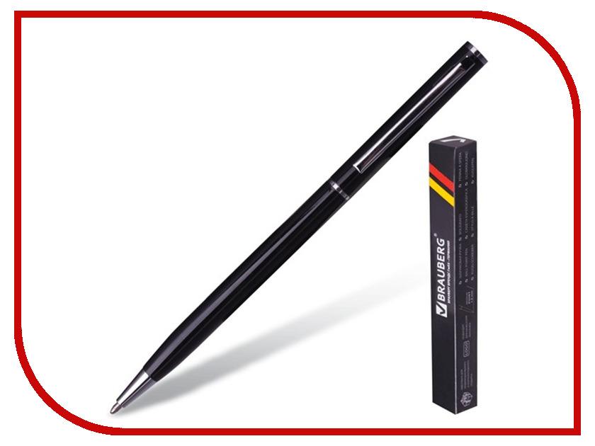 Ручка шариковая Brauberg Delicate Black-Silver 141399