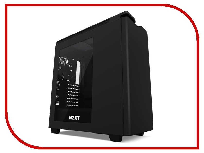 Корпус NZXT H440 Black CA-H442W-M8 3pcs m8 100mm m8 100mm 304 stainless steel ss din933 full thread hex hexagon head screw