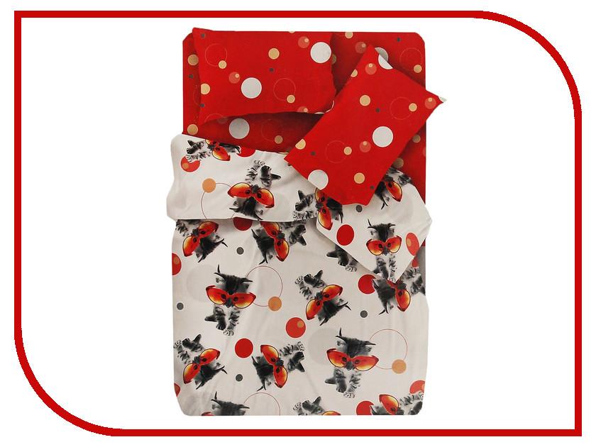 Постельное белье FOR YOU Оранж 8635+8636 вид 1 Комплект 1.5 спальный Бязь всё для лепки playgo набор 8636