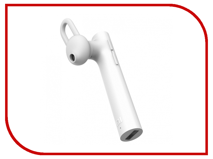 Xiaomi Mi Bluetooth Headset Youth Edition White new original xiaomi mi based version of millet piston headset ear type universal cute girl youth version of millet piston