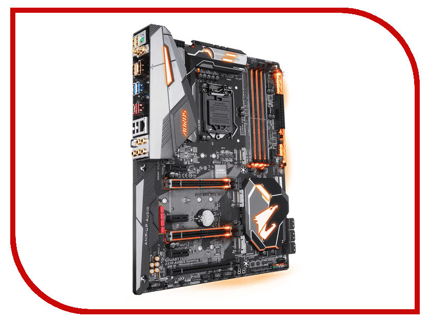 Материнская плата GigaByte Z370 AORUS GAMING 5 компьютер gigabyte brix gaming vr