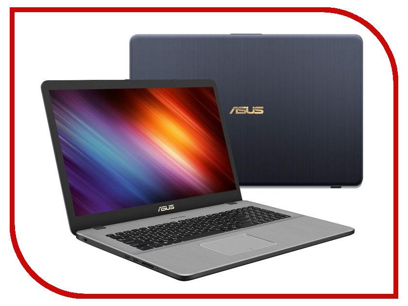 Ноутбук ASUS N705UD-GC174 90NB0GA1-M02570 (Intel Core i7-8550U 1.8 GHz/16384Mb/1000Gb/No ODD/nVidia GeForce GTX 1050 2048Mb/Wi-Fi/Bluetooth/Cam/17.3/1920x1080/Endless) ноутбук asus k751sj ty020d 90nb07s1 m00320