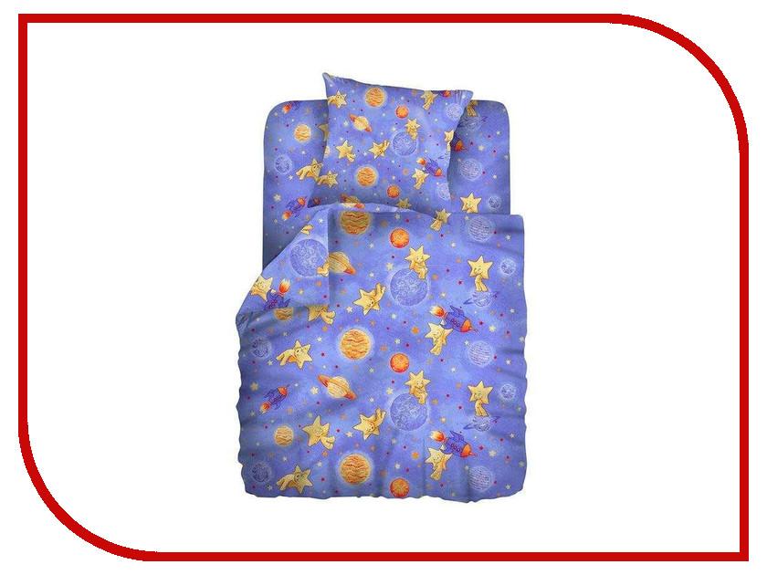 Постельное белье Кошки-мышки Космостар КДКм-1 8658-1 Комплект 1.5 спальный Бязь