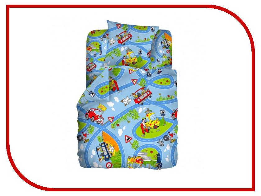 Постельное белье Кошки-мышки Светофор КДКм-1 8135 Комплект детский Бязь