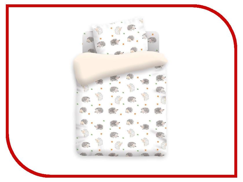 Постельное белье Непоседа Ёжики КДН-1 8813 вид 1 Комплект 1.5 спальный Бязь непоседа постельное белье ёжики 3 пред бязь непоседа