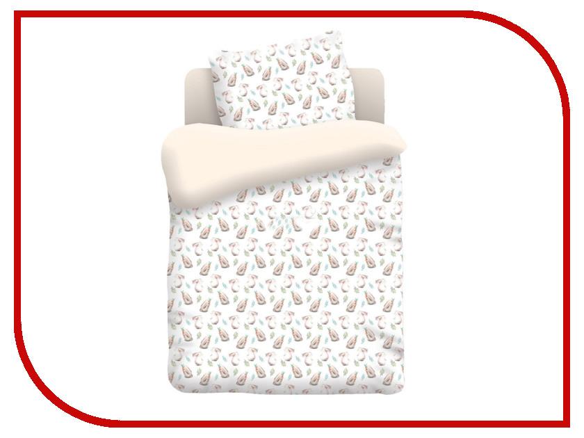 Постельное белье Непоседа Ушастики КДН-1 8898 Комплект 1.5 спальный Бязь непоседа постельное белье ёжики 3 пред бязь непоседа