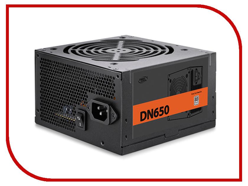 Блок питания DeepCool DN650 650W DP-230EU-DN650 бп atx 650 вт deepcool nova dn650