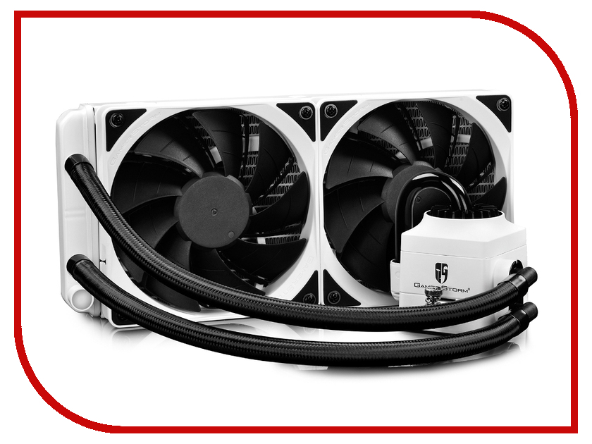 цены Водяное охлаждение DeepCool Captain 240 EX RGB White DP-GS-H12L-CT240RGB-WH (Intel LGA20XX/LGA1366/LGA115X/ AMD AM4/AM3+/AM3/AM2+/AM2/FM2+/FM2/FM1)