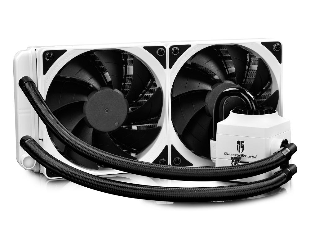 Водяное охлаждение Deepcool Captain 240 EX WHITE RGB все цены