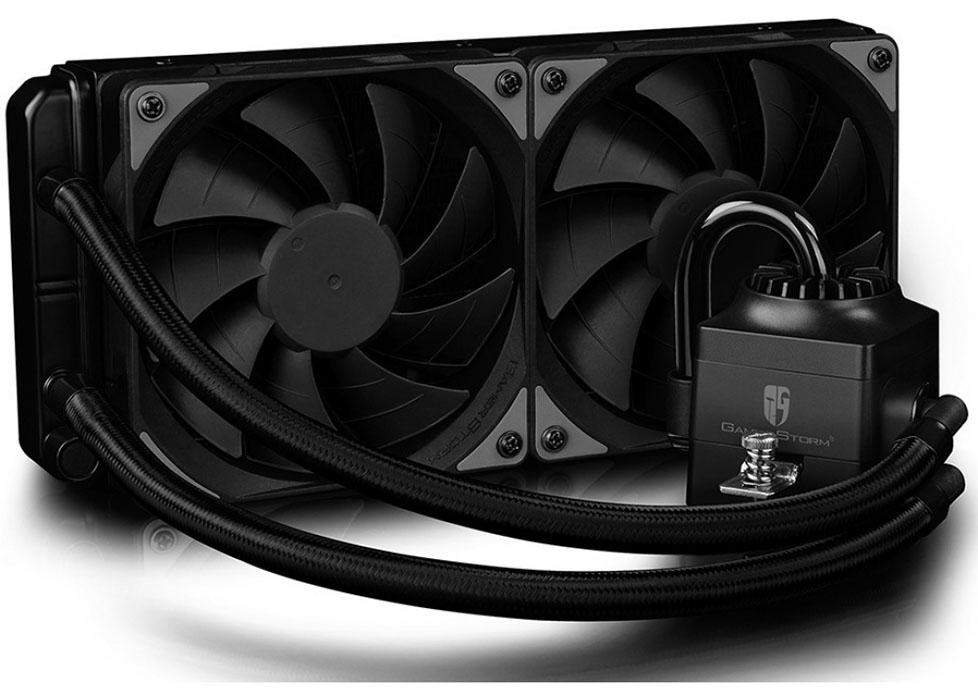 Водяное охлаждение DeepCool Captain 240 EX RGB DP-GS-H12L-CT240RGB (Intel LGA20XX/LGA1366/LGA115X/ AMD AM4/AM3+/AM3/AM2+/AM2/FM2+/FM2/FM1)