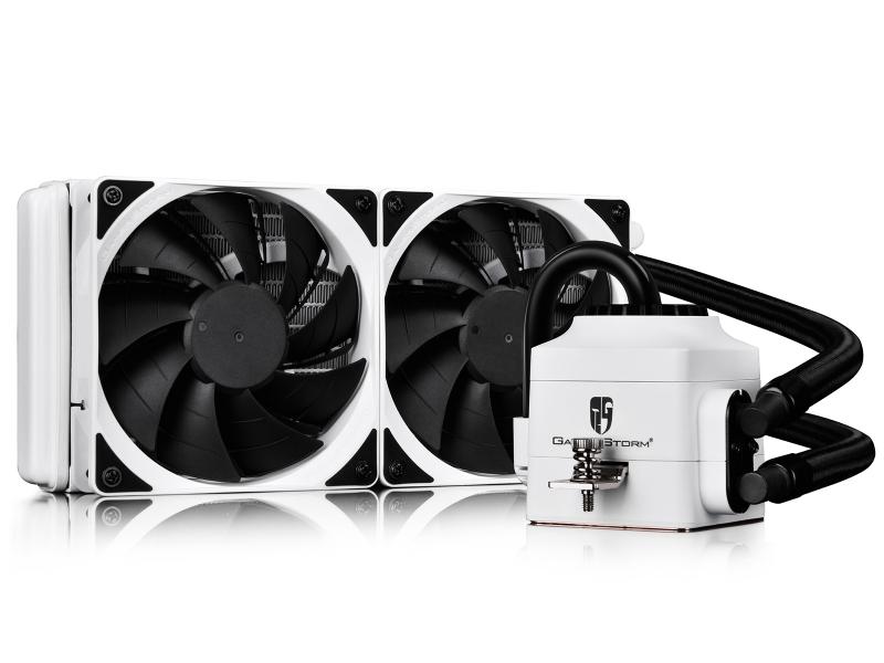 все цены на Водяное охлаждение DeepCool Captain 240 EX White DP-GS-H12L-CT240W-A4 (Intel LGA20XX/LGA1366/LGA115X/ AMD AM4/AM3+/AM3/AM2+/AM2/FM2+/FM2/FM1) онлайн