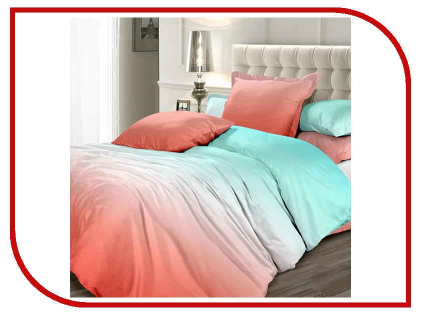 где купить Постельное белье Унисон Ombre Luxury Коралловые рифы КБУсгк-21 11998 вид 15 Комплект 2 спальный Сатин по лучшей цене