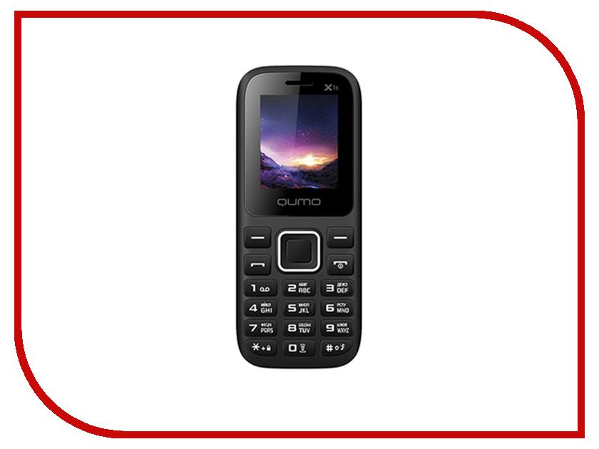 Сотовый телефон Qumo Push X1S Black