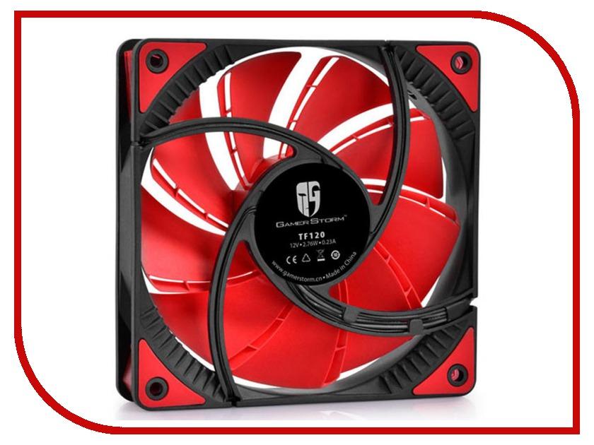 Вентилятор Deepcool TF120 120mm Black-Red DPGS-FTF-TF120RR все цены