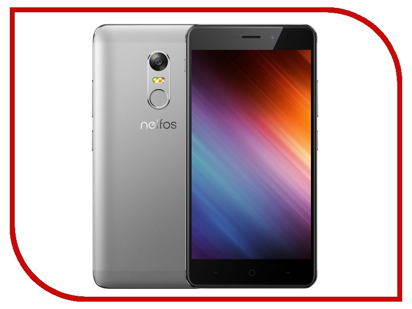 Сотовый телефон Neffos X1 Max 64Gb Cloudy Grey NEF-TP903A2ARU смартфон neffos x1 серый 5