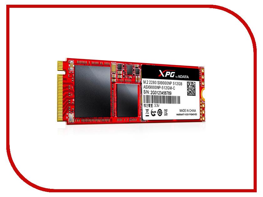 Жесткий диск 512Gb - A-Data SX9000 ASX9000NP-512GM-C