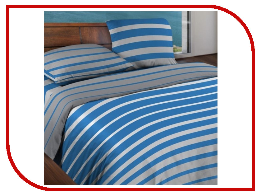 Постельное белье Wenge Motion Stripe Blue КБВм-41 15184 вид 5 Комплект Евро Бязь lole леггинсы lsw1234 motion leggings m blue corn