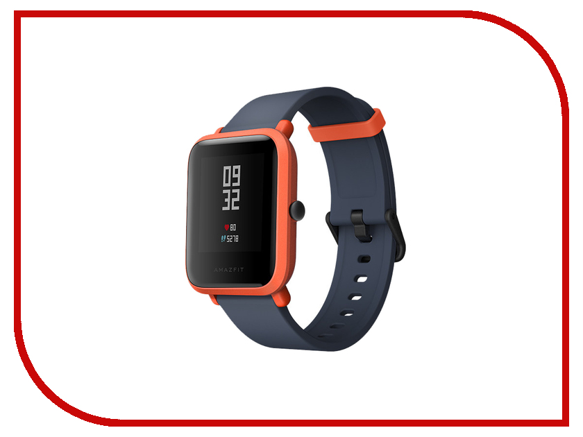 Умные часы Xiaomi Huami Amazfit Bip Orange / Cinnabar Red цена 2017