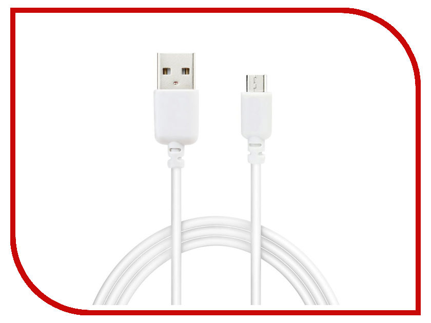 USB A/B/Micro/Mini/Type-C SV-DC-MICROUSB-WH  Аксессуар Svekla USB - microUSB White SV-DC-MICROUSB-WH