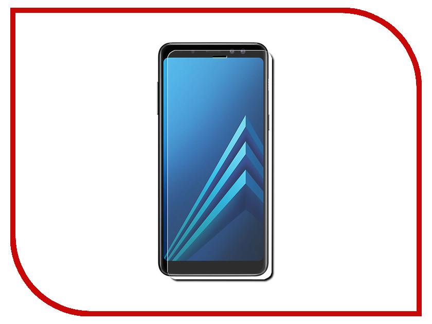 Аксессуар Защитное стекло для Samsung Galaxy A8 Plus 2018 A730F Svekla ZS-SVSGA730F аксессуар защитное стекло для samsung galaxy s9 sd845 svekla 3d black frame zs svsgsd845 3dbl