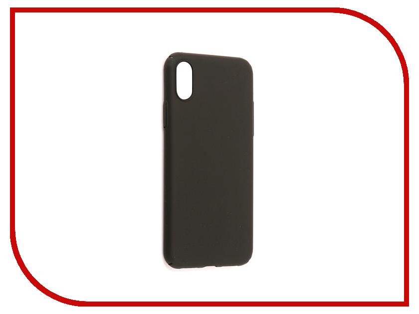 Аксессуар Чехол Zibelino PC для APPLE iPhone X Black ZPC-APL-X-BLK аксессуар чехол lg x power 2 zibelino pc black zpc lg xp2 blk