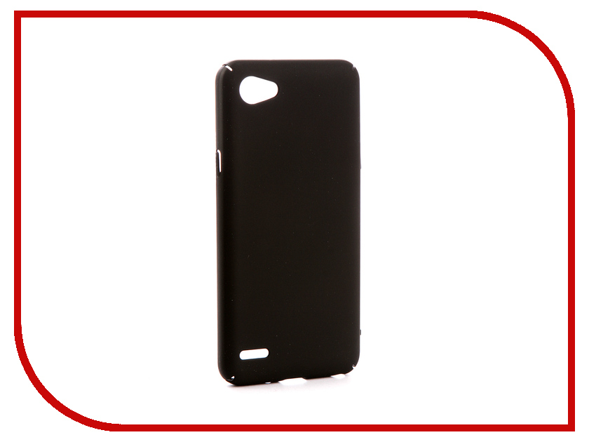 Аксессуар Чехол для LG Q6 M700AN Zibelino PC Black ZPC-LG-Q6-BLK аксессуар защитное стекло lg q6 m700an zibelino tg 0 33mm 2 5d ztg lg q6 m700an