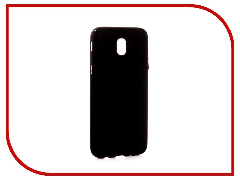 Фото Аксессуар Чехол Samsung Galaxy J5 J530 2017 Zibelino PC Black ZPC-SAM-J530-BLK аксессуар чехол samsung j5 2017 j530f zibelino clear view gold pink zcv sam j530 pgld