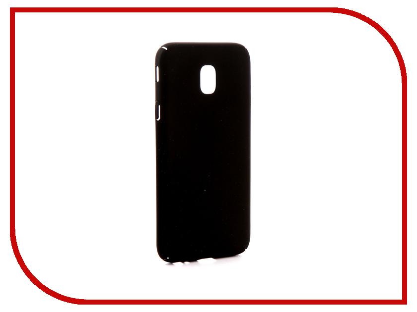 Фото Аксессуар Чехол Samsung Galaxy J3 J330 2017 Zibelino PC Black ZPC-SAM-J330-BLK аксессуар чехол samsung j3 2017 j330f zibelino clear view black zcv sam j330 blk