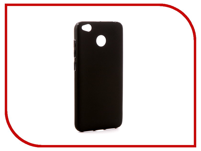 Аксессуар Чехол Xiaomi Redmi 4X Zibelino PC Black ZPC-XIA-R4X-BLK аксессуар чехол xiaomi redmi 4x zibelino classico black zcl xia rdm 4x blk