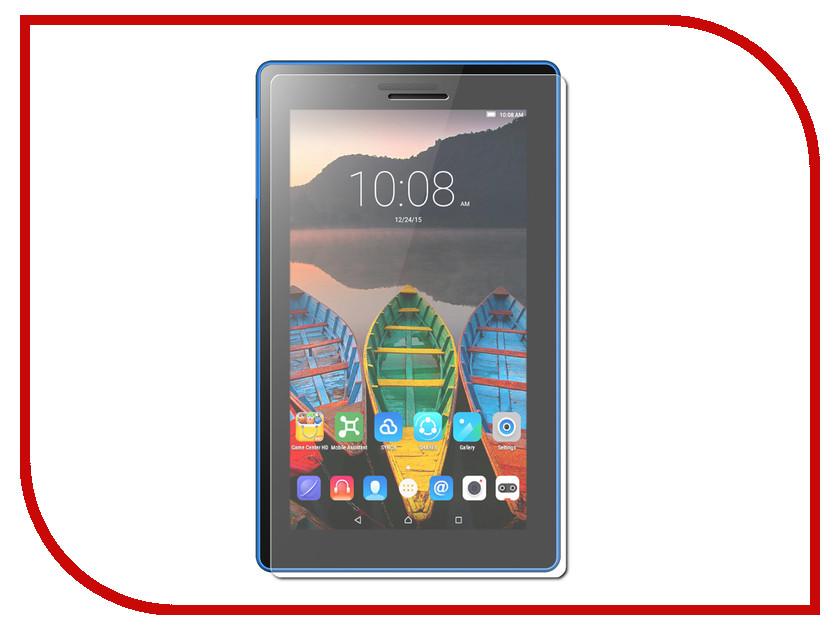Фото Аксессуар Защитное стекло Lenovo Tab 3 TB3-710i 7.0-inch ZibelinoTG 0.33mm 2.5D ZTG-LEN-TAB3-710i fashion shell ultra slim luxury silicon soft cover back smart silicone case for lenovo tab 3 730f 730m tab3 tb3 730f tb3 730m 7