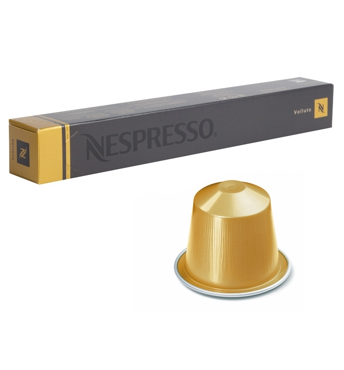 Капсулы Nespresso Volluto 10шт 7435.50 капсулы nespresso vivalto lungo 10шт 7810 50