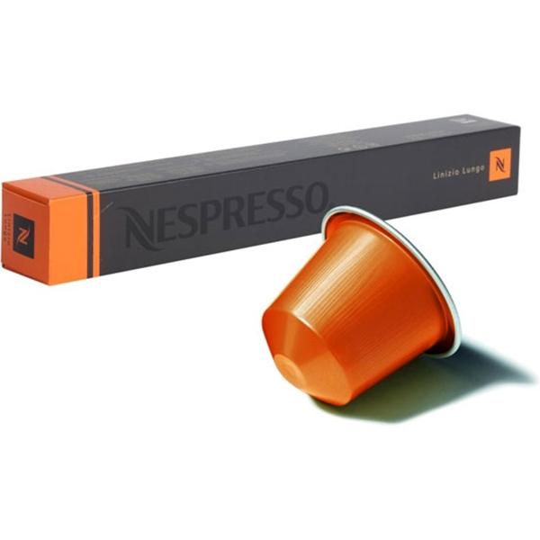 Капсулы Nespresso Linizio Lungo 10шт 7622.50 капсулы nespresso vivalto lungo 10шт 7810 50