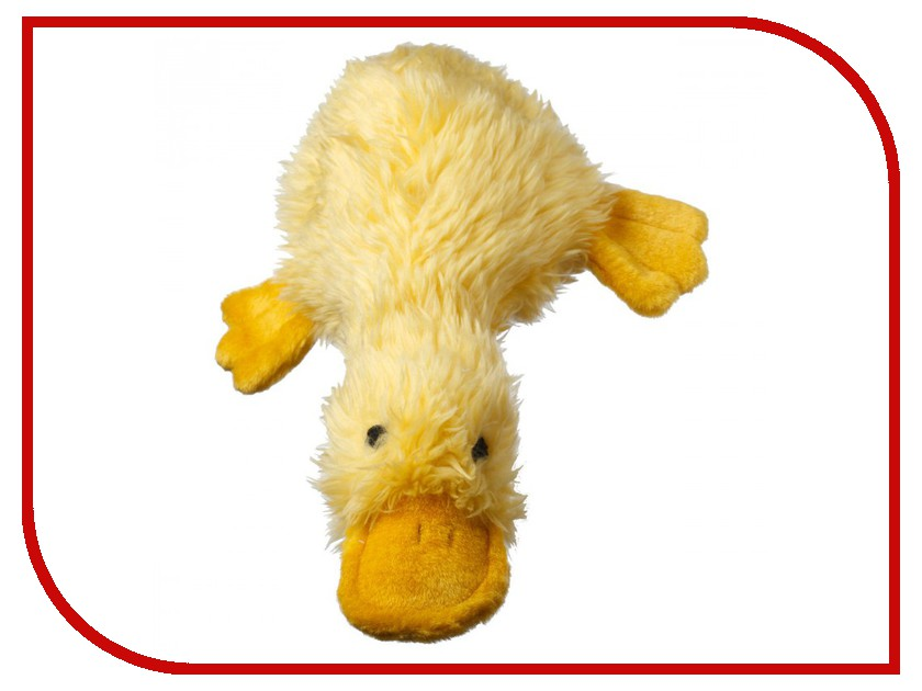Утка большая Мультипет Yellow 12-37701 с пищалкой