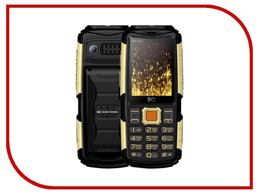 Сотовый телефон BQ BQ-2430 Tank Power Black-Gold сотовый телефон bq 5032 element gold