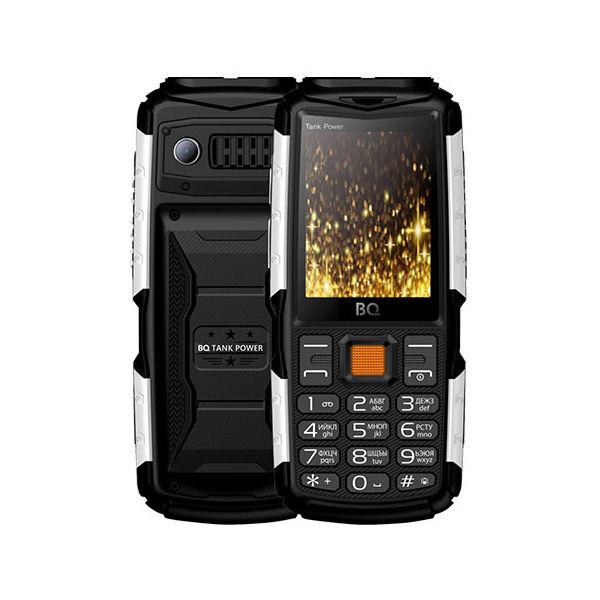 Сотовый телефон BQ BQ-2430 Tank Power Black-Silver сотовый телефон bq bq 6010g practic gold
