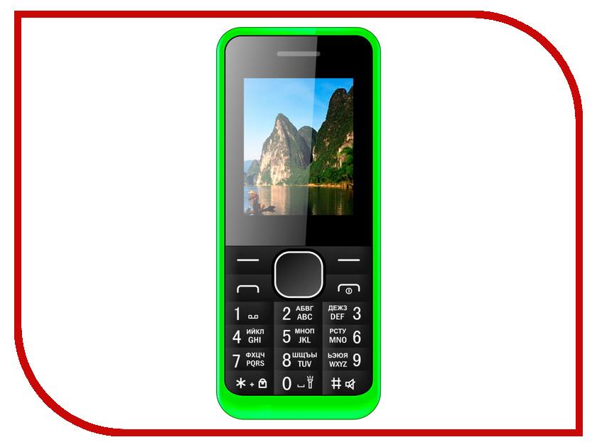 Сотовый телефон Irbis SF14 Green сотовый телефон irbis sp517 red