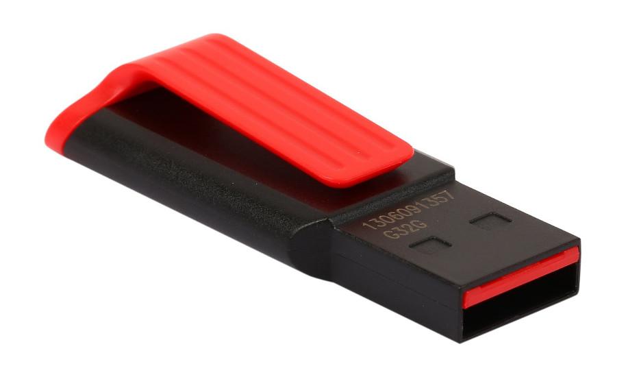 USB Flash Drive 32Gb - A-Data UV140 USB 3.0 Black-Red AUV140-32G-RKD флешка usb 32gb a data uv140 auv140 32g rbe синий