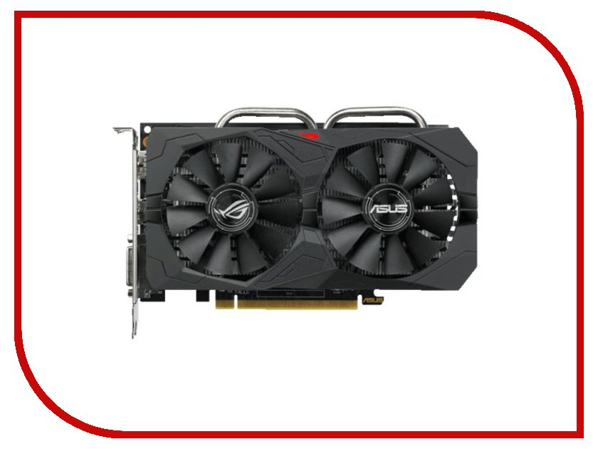 Видеокарта ASUS Radeon RX 560 Strix Gaming 1197Mhz PCI-E 3.0 4096Mb 7000Mhz 128 bit DVI HDMI HDCP ROG-STRIX-RX560-O4G-EVO-GAMING видеокарта 6144mb msi geforce gtx 1060 gaming x 6g pci e 192bit gddr5 dvi hdmi dp hdcp retail