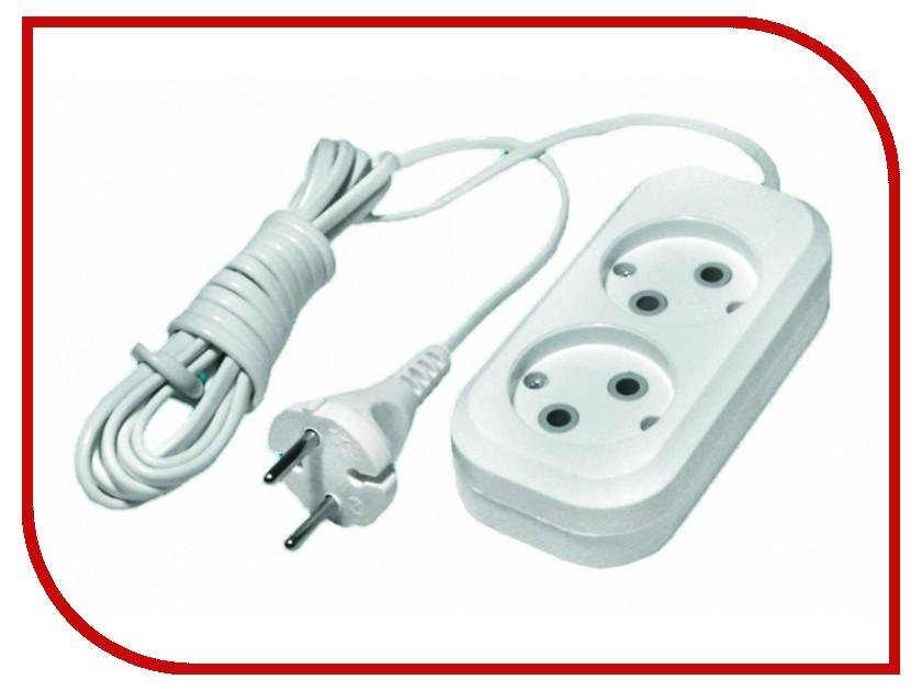 Удлинитель 2 Sockets 3m 89-0-023 сернистый натрий технический гост 596 89 от производителя