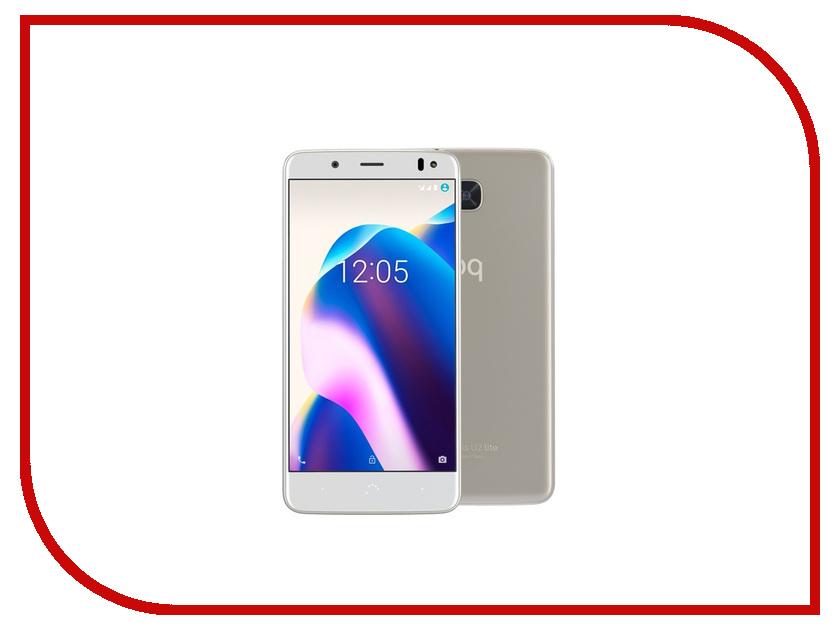 Сотовый телефон BQ Aquaris U2 Lite 2Gb RAM 16Gb Sand Gold смартфон bq aquaris u lite 16gb white gold