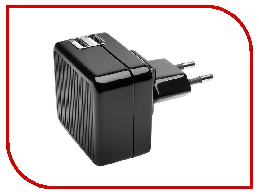 Зарядное устройство Kensington 2xUSB 2.1A Black K39690EU