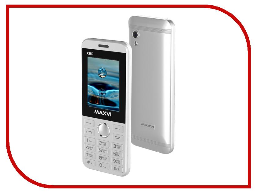 Zakazat.ru: Сотовый телефон Maxvi X350 Metallic Silver