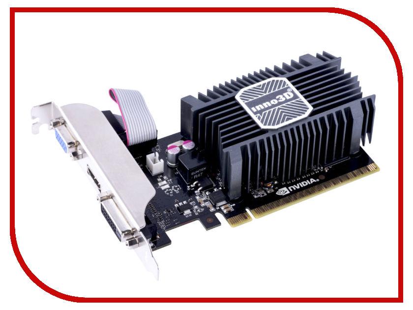 Видеокарты N730-1SDV-D3BX  Видеокарта Inno3D GeForce GT 730 902Mhz PCI-E 2.0 1024Mb 1800Mhz 64 bit DVI HDMI HDCP N730-1SDV-D3BX